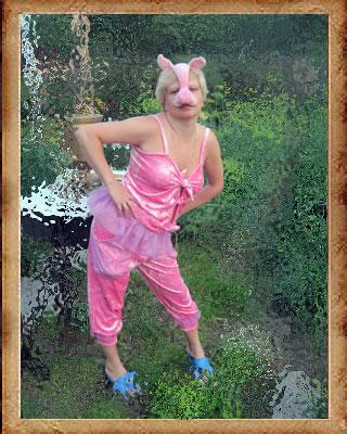 Пятачок свиньи своими руками 67